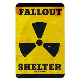 Fallout Shelter vintage warning poster Magnet