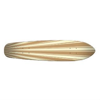 Fallow Color Stripe Funky Pattern Skate Decks