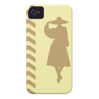 Fallow Cream Neutral Chevrons Fashion iPhone 4 Case