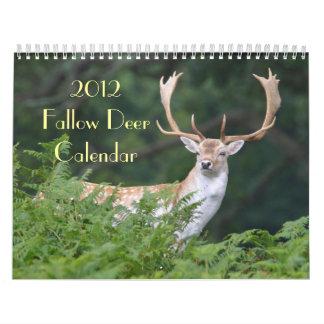 Fallow Deer Calendar