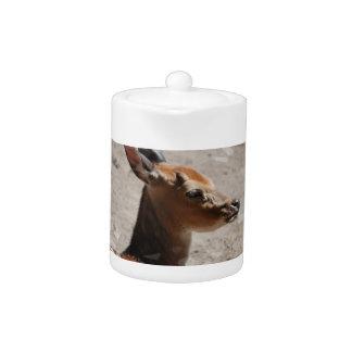 Fallow Deer Profile Teapot