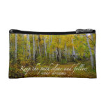 Fallow your dreams cosmetic bags