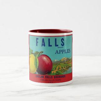 falls apples mug