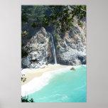 falls at Big Sur Posters