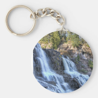 Falls at Gooseberry Keychain
