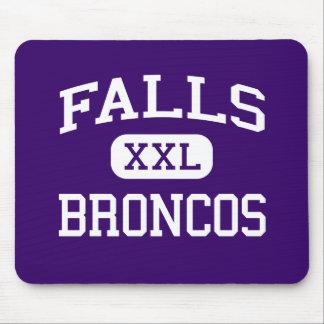 Falls - Broncos - High - International Falls Mouse Pad