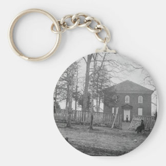 Falls Church, Va. The Church. Circa 1861- 1862 Keychain