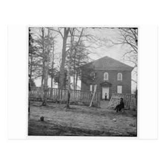 Falls Church, Va. The Church. Circa 1861- 1862 Postcard