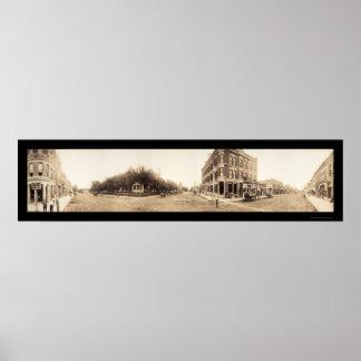 Falls City, NE Photo 1908 Posters