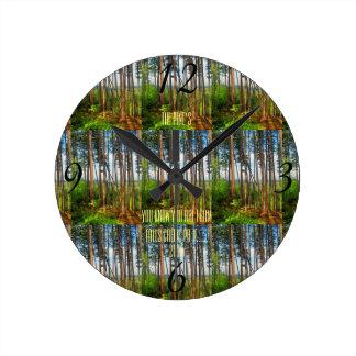 Falls Creek Pine's Clock