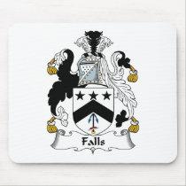 Falls Family Crest Mousepad
