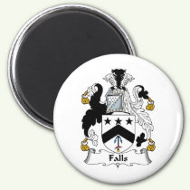 Falls Family Crest Magnet