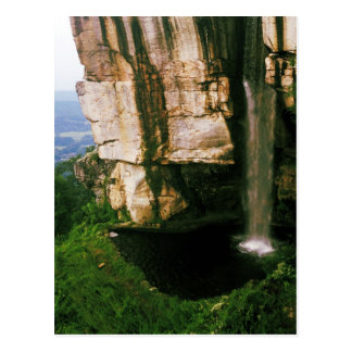 """Falls from the Top"" - Chattanooga, TN Postcard"