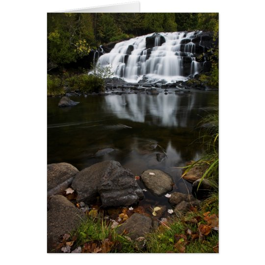 Falls In Autumn Card
