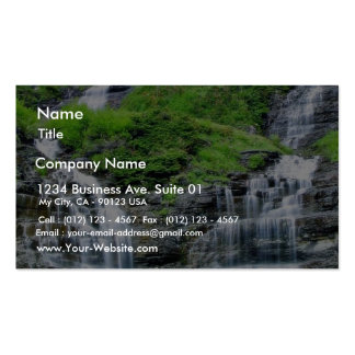 Falls In Glacier Double-Sided Standard Business Cards (Pack Of 100)