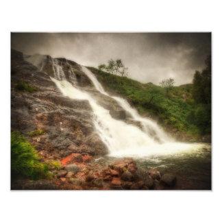 Falls of Glencoe Photo Print