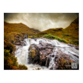 Falls of Glencoe Postcard