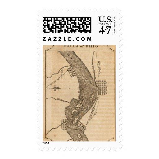 Falls of Ohio Stamp