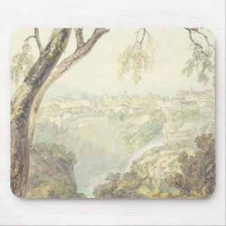 Falls of the Anio (w/c) Mouse Pad