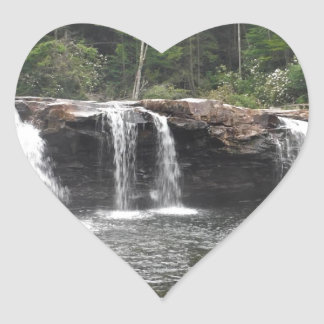 Falls of the Cheat Heart Sticker