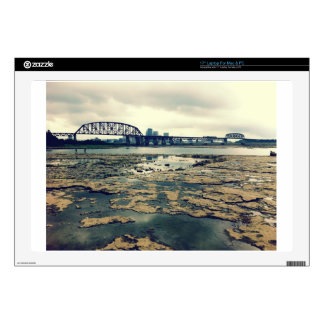 Falls of the Ohio Fossil Beds at Dusk Decal For Laptop