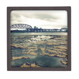 Falls of the Ohio Fossil Beds at Dusk Gift Box