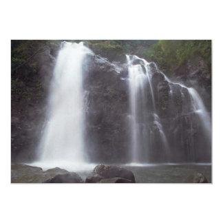 Falls Of Water 5x7 Paper Invitation Card