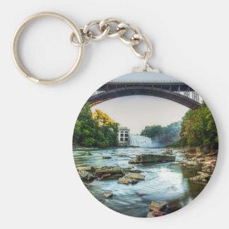 Falls Under the Bridge Keychain