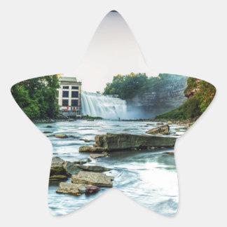 Falls Under the Bridge Star Sticker