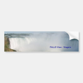 Falls View : Niagara USA Canada Bumper Sticker