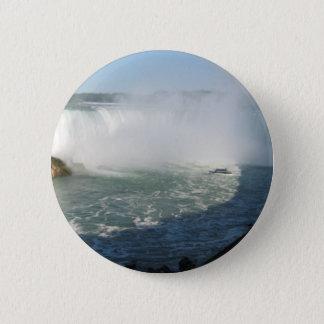 Falls View : Niagara USA Canada Button