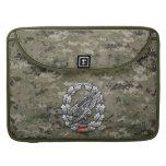 Fallschirmjägertruppe Barettabzeichen MacBook Pro Sleeves