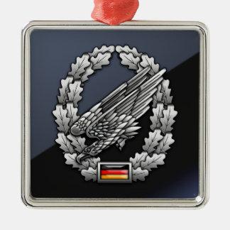 Fallschirmjägertruppe Barettabzeichen Christmas Tree Ornaments