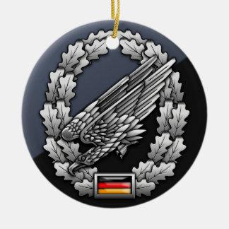 Fallschirmjägertruppe Barettabzeichen Christmas Ornament