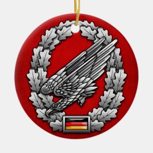 Fallschirmjägertruppe Barettabzeichen Christmas Tree Ornament