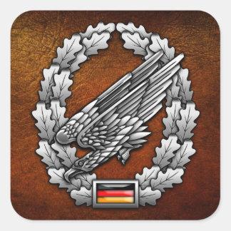 Fallschirmjägertruppe Barettabzeichen Sticker