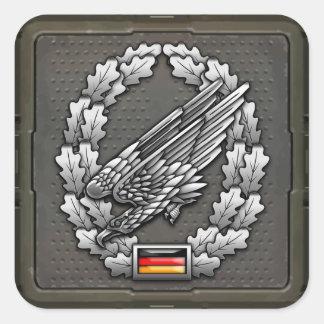 Fallschirmjägertruppe Barettabzeichen Stickers