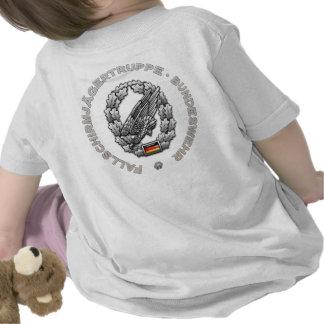 Fallschirmjägertruppe Barettabzeichen Tshirts