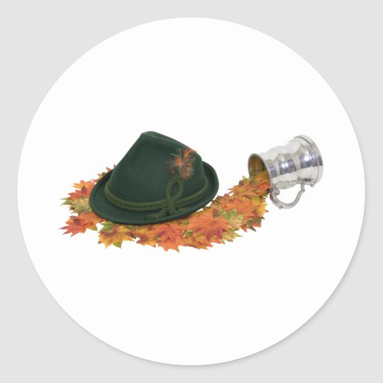 FallTraveling082609 Classic Round Sticker
