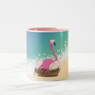Falmingos Two-Tone Coffee Mug