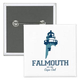 Falmouth - Cape Cod. Pinback Button