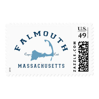 Falmouth -  Cape Cod. Postage