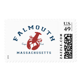 Falmouth - Cape Cod. Postage Stamp