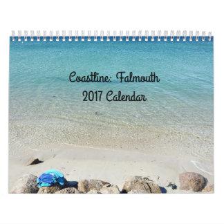 Falmouth Coastline 2017 Calendar
