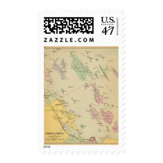 Falmouth Foreside, adjacent islands, Casco Bay Postage