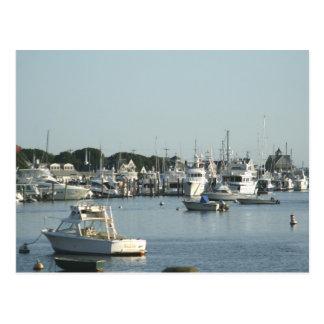Falmouth Harbor Post Card