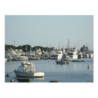 Falmouth Harbor Postcard