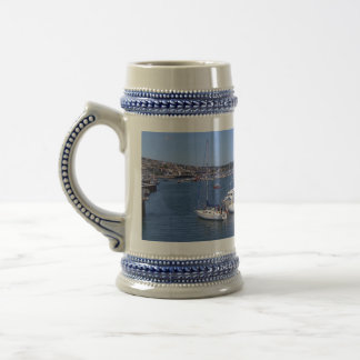 Falmouth harbour beer stein