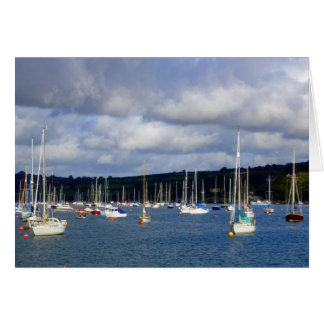 Falmouth Harbour, Cornwall Greeting Card