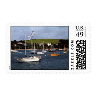 Falmouth Harbour Postage Stamp